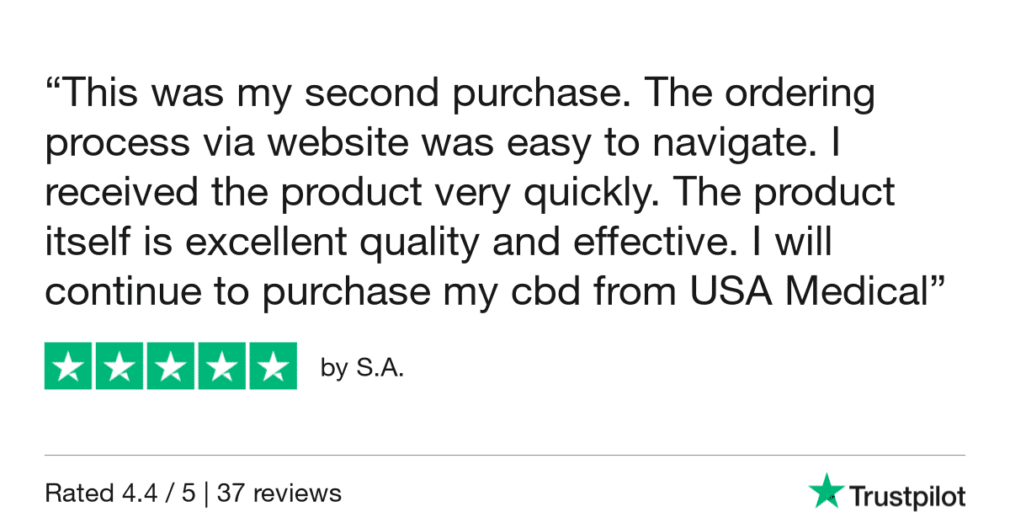USA Medical TrustPilot Review - By S.A.