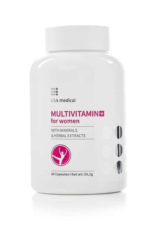 Women's Daily Multivitamin USA Medical - Free Shipping